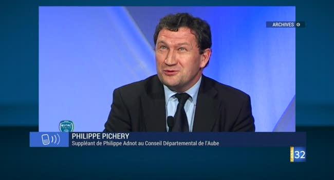 Canal 32 - Philippe Pichery prêt à prendre la relève de Philippe Adnot au Conseil Départemental