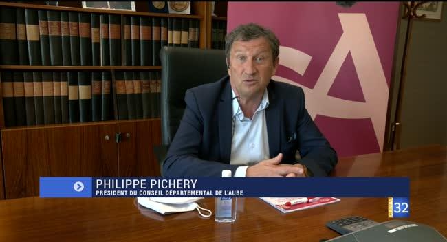 Canal 32 - Philippe Pichery : sa réaction sur la situation des Ehpad