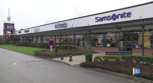 Canal 32 - Pont-Sainte-Marie : le centre de marques se prépare au lancement des soldes