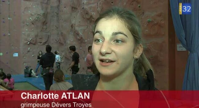 Canal 32 - Portrait de la jeune grimpeuse Charlotte Atlan