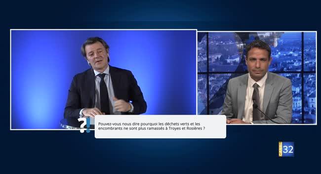 Canal 32 - Questions/Réponses avec François Baroin : le point sur les déchèteries