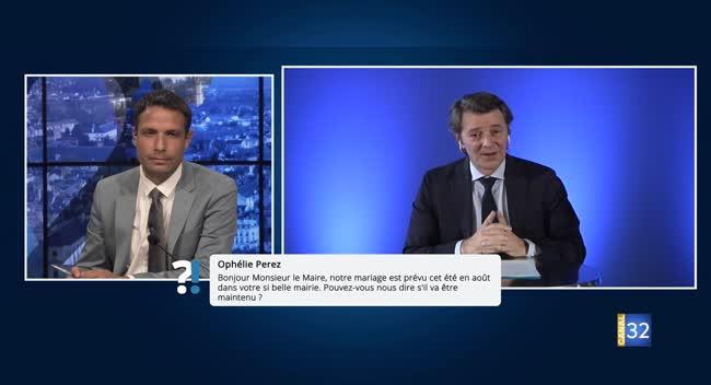 Canal 32 - Questions/Réponses avec François Baroin : quand pourra-t-on se marier à la mairie de Troyes ?