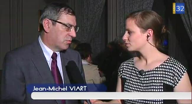 Canal 32 - Saint-Julien-les-Villas: réaction Jean-Michel Viart