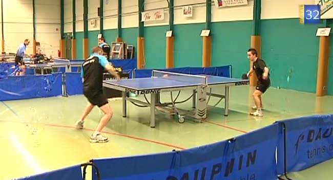 Canal 32 - Tennis de table, aux portes de la N3