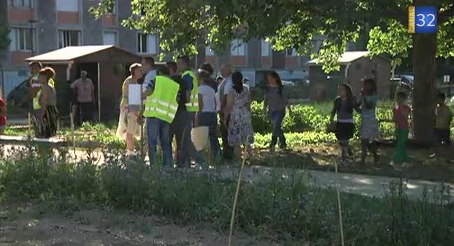 Troyes un jardin de partage cr aux s nardes canal32 for Cree un jardin