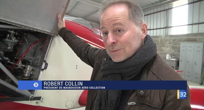 Canal 32 - Un collectionneur prévoit d'ouvrir un musée de l'aviation dès 2020