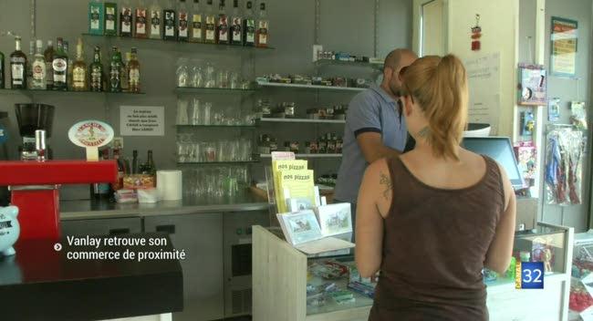 Canal 32 - Un couple rouvre le seul commerce du village de Vanlay