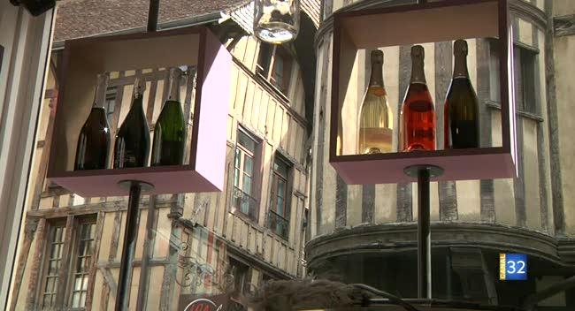 Canal 32 - 10 vignerons de Celles-sur-Ource ouvrent leur boutique à Troyes