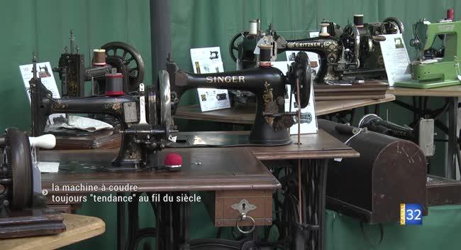 Canal 32 - Romilly-sur-Seine : 100 ans de machine à coudre en exposition !