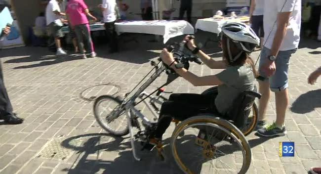 Canal 32 - Handi Troyes : valoriser l'égalité entre personnes handicapées et valides