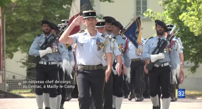 Canal 32 - Mailly-le-Camp : un nouveau chef de corps pour le Centac