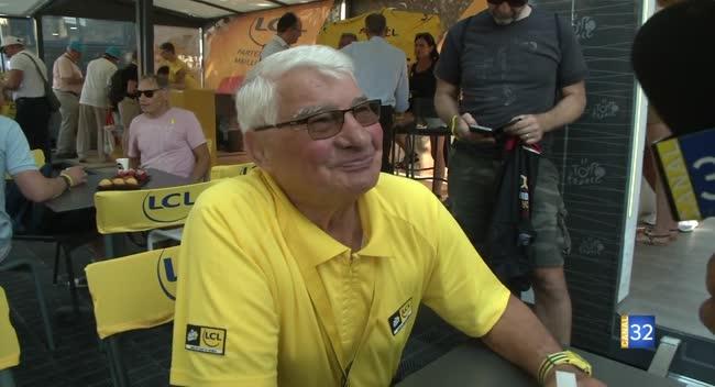 Canal 32 - Décès de Raymond Poulidor : le champion était venu voir le Tour de France à Troyes en 2017 (Archives)