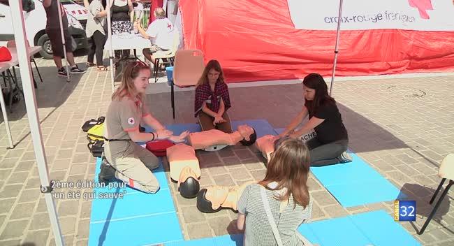 Canal 32 - Troyes : initiez-vous aux premiers secours avec l'opération Un été qui sauve