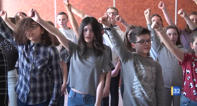 Canal 32 - Troyes : 35 collégiens vont participer au concert Best of Floyd au Cube