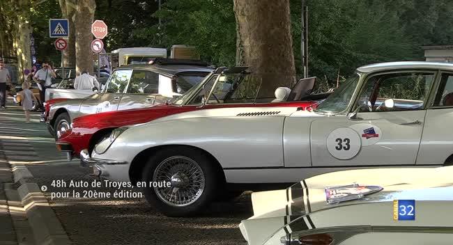 Canal 32 - 48h d'automobiles anciennes de Troyes : en route pour la 20ème édition
