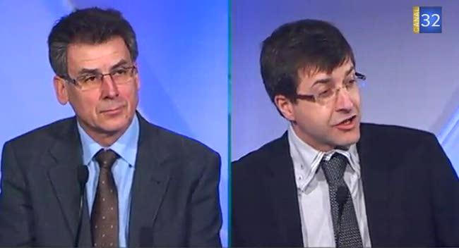 Canal 32 - Municipales : le débat des 2 candidats Romillons