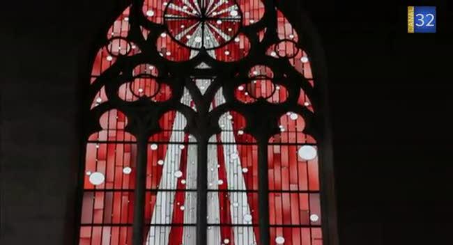 Canal 32 - Huit vitraux contemporains pour l'église Saint-Martin de Romilly