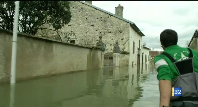 Canal 32 - Inondations : le point à Jaucourt