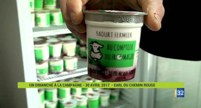 Canal 32 - A la découverte des fromages et yaourts à la ferme
