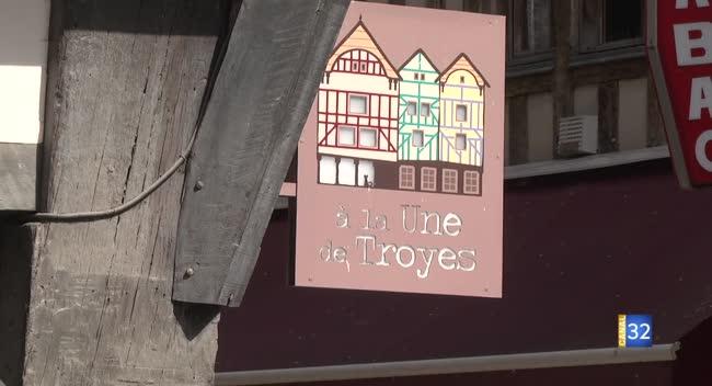 Canal 32 - A la une de Troyes revisite le concept de la boutique souvenirs