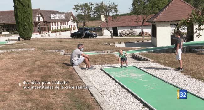 Canal 32 - A Montiéramey, la Mangeoire propose gratuitement son mini-golf aux soignants