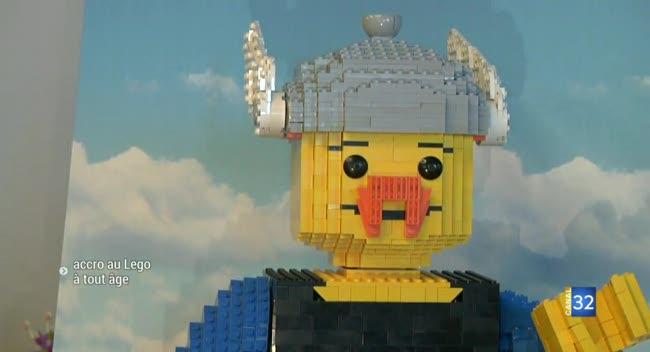 Canal 32 - Lavau : accros au Lego à tout âge !