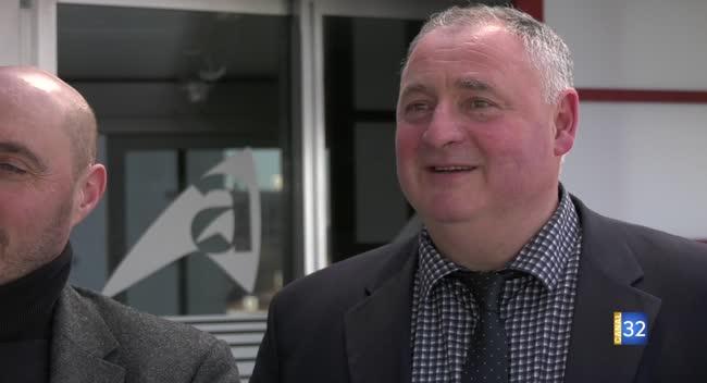 Canal 32 - Alain Boulard élu président de la Chambre d'agriculture