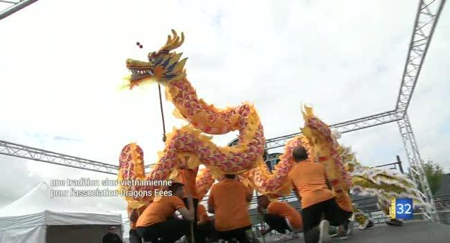 Canal 32 - Saint-Julien-les-Villas : apprendre les arts martiaux asiatiques avec Dragons Fées