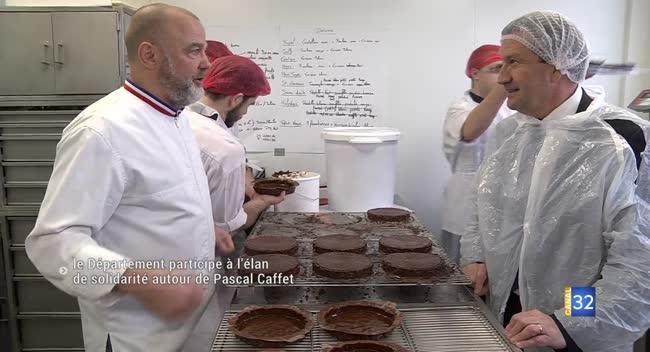 Canal 32 - Après l'incendie, Pascal Caffet relance sa production grâce à la solidarité