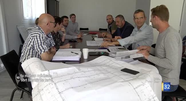 Canal 32 - Arcis-sur-Aube : bientôt le début du chantier pour la maison médicale