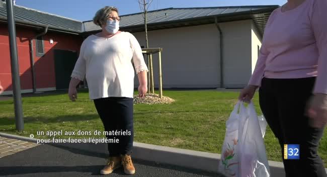 Canal 32 - Arcis-sur-Aube : un appel aux dons de matériels pour faire face à l'épidémie