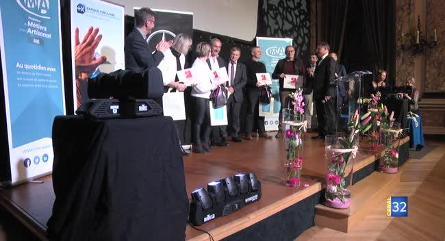 Canal 32 - Troyes : 106 acteurs de l'artisanat aubois récompensés.