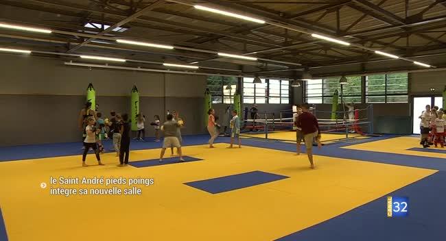 Canal 32 - Arts martiaux : un nouveau dojo pour le Saint-André Pieds Poings