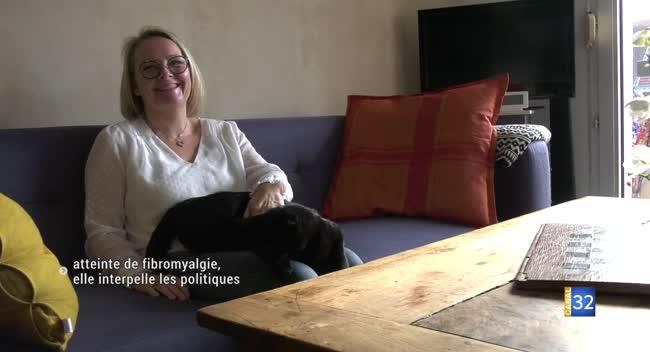 Canal 32 - Atteinte de fibromyalgie, elle interpelle les politiques