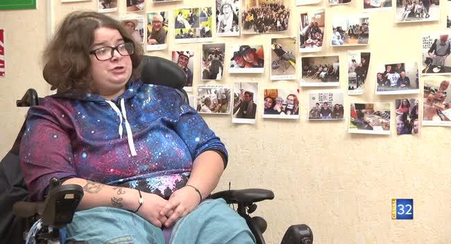 Canal 32 - Aube au féminin - Océane Michel, de l'APF France handicap de l'Aube