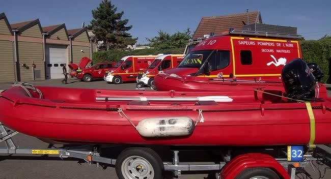 Canal 32 - Du matériel flambant neuf pour les sapeurs-pompiers aubois