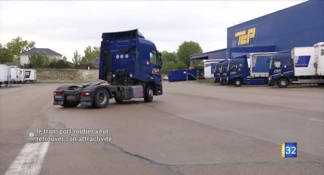 Canal 32 - Le transport routier de marchandises fait sa promotion