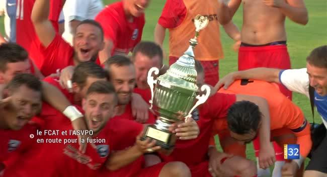 Canal 32 - Aube : les clubs de football de l'ASVPO et du FCAT vont fusionner