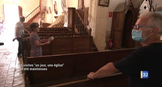 Canal 32 - Aube : l'opération Un jour, une église a été maintenue