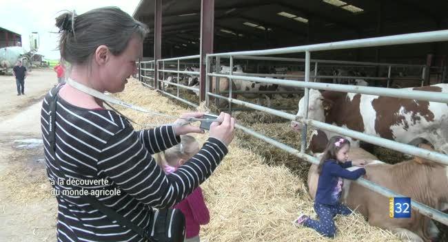 Canal 32 - Aube : un dimanche à la campagne pour découvrir le monde agricole
