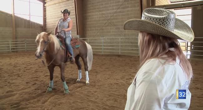 Canal 32 - Macey : Auboises et championnes d'équitation western !