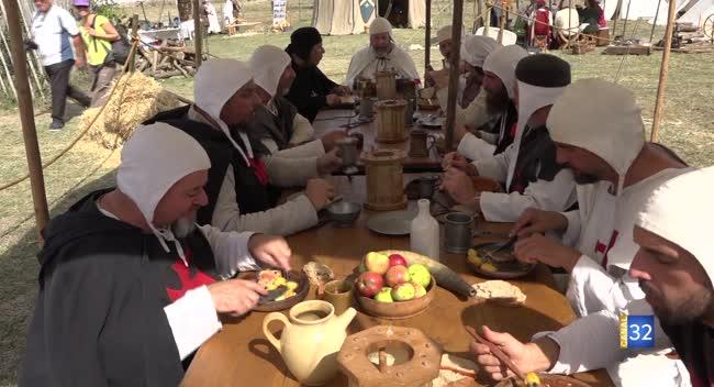 Canal 32 - Avalleur : immersion au XIIème siècle dans la vie quotidienne des templiers