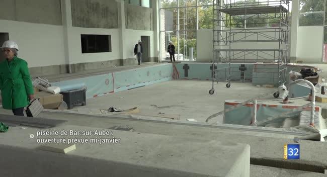 Canal 32 - Bar-sur-Aube : le nouveau centre aquatique se dévoile