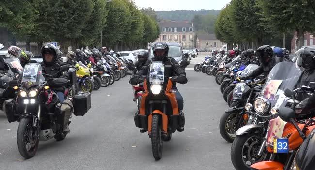 Canal 32 - Bar-sur-Aube : l'hommage des motards à Lauryne