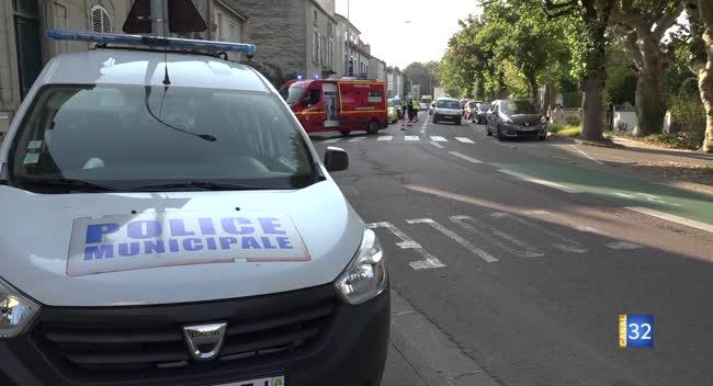 Canal 32 - Bar-sur-Aube : un policier municipal percuté par une voiture