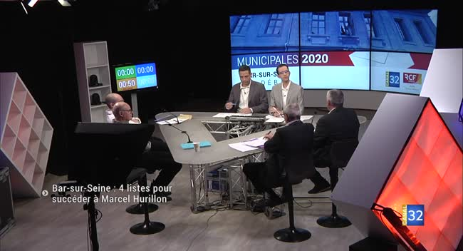 Canal 32 - Bar-sur-Seine : 4 listes pour succéder à Marcel Hurillon