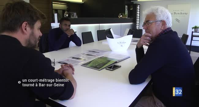 Canal 32 - Bar-sur-Seine : la place du marché, futur décor d'un court-métrage