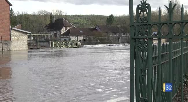 Canal 32 - Barséquanais : une sensibilisation des élus autour des inondations