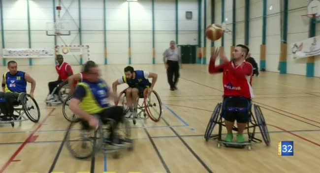 Canal 32 - Basket Fauteuil : le CHAT débute par une victoire face à Lille : 53-45