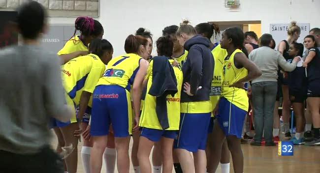 Canal 32 - Basket, le choc des soeurs Lesoudard tourne à l'avantage du SSB